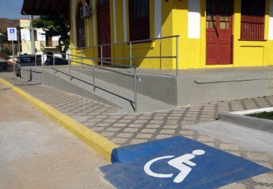 Prefeitura realiza obra de acessibilidade