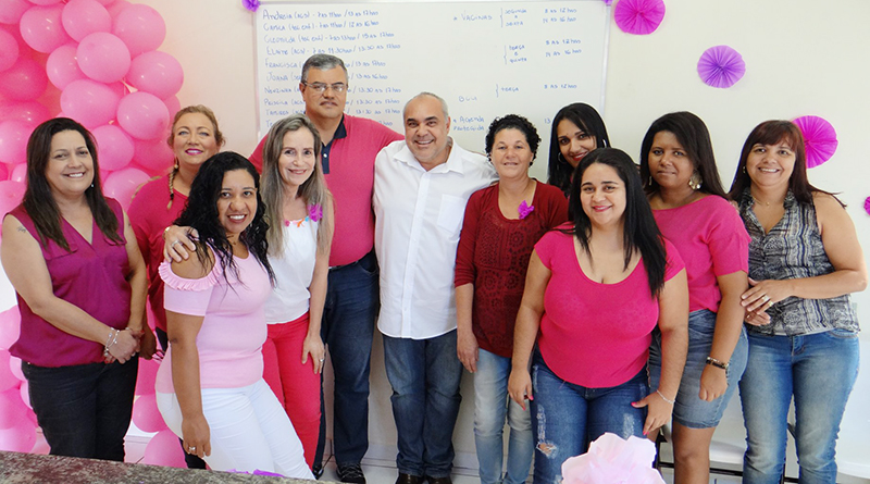 """Secretaria de Saúde faz abertura da campanha """"Outubro Rosa"""""""