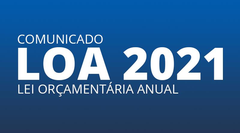 COMUNICADO LOA 2021