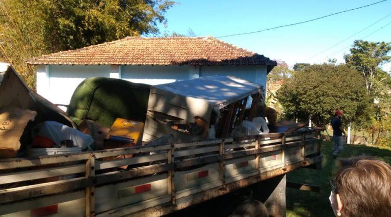 Prefeitura de Lavrinhas iniciou a operação cata-bagulho