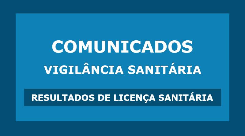 Comunicados – Vigilância Sanitária de Lavrinhas