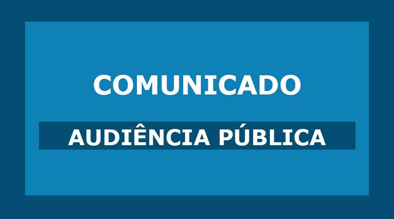 Audiência Pública – PPA