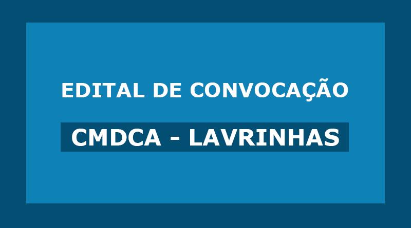 Edital de Convocação – CMDCA