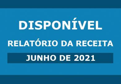 Receita de junho de 2021