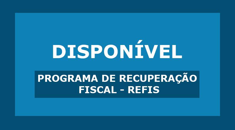 Programa de Recuperação Fiscal – REFIS